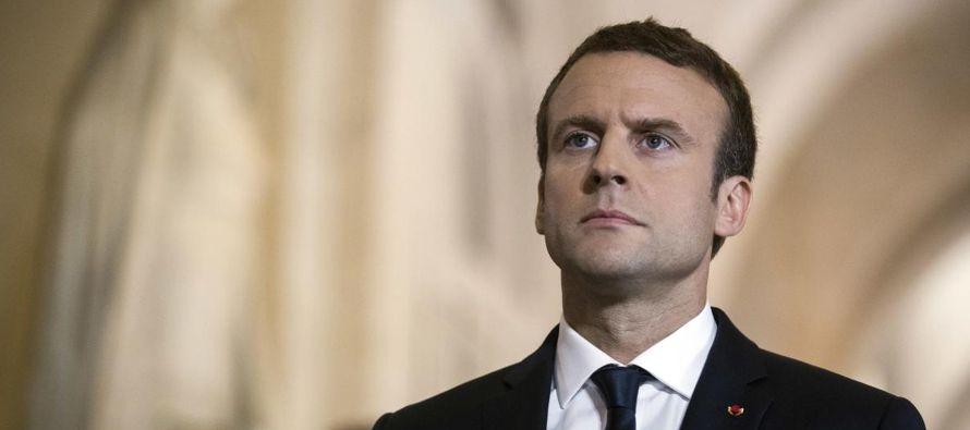 """Macron descarta una """"guerra comercial"""" entre """"aliados"""" como EU y la Unión Europea"""
