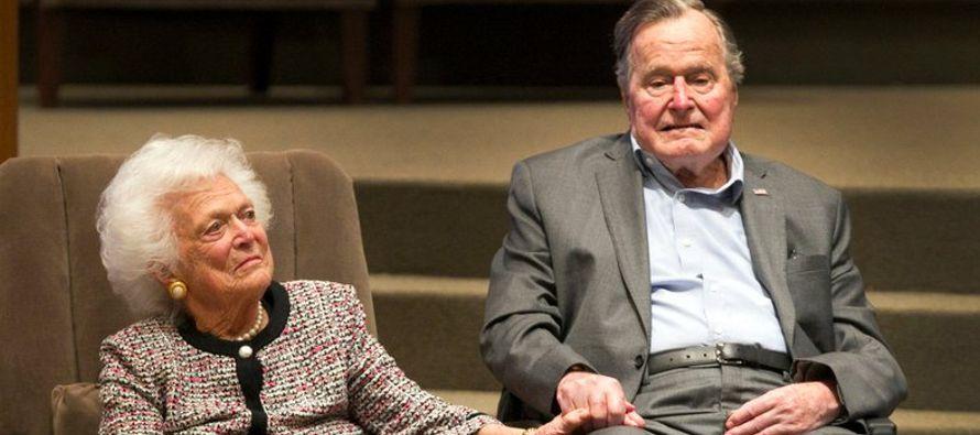 Incluso si la muerte de un cónyuge está prevista _como el caso de Barbara Bush cuando...