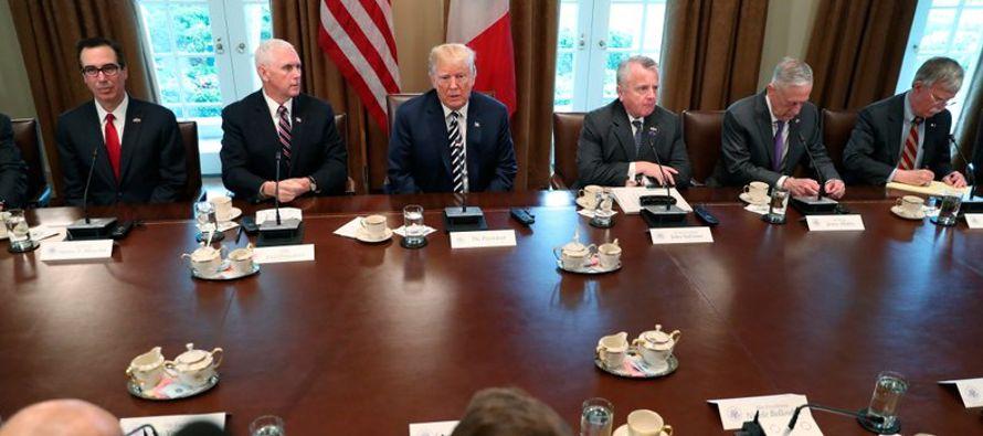 Las declaraciones causaron sorpresa debido a que hasta ahora Trump se refería al...