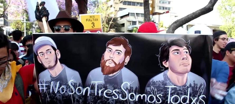 Sociedad cuestiona a fiscalía en caso de asesinato de estudiantes en Jalisco