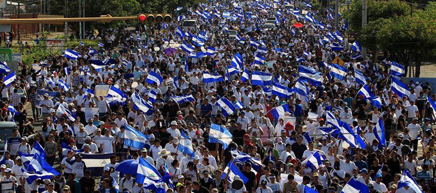 """""""Lo que se dio es una masacre contra los estudiantes, contra el pueblo de Nicaragua"""",..."""