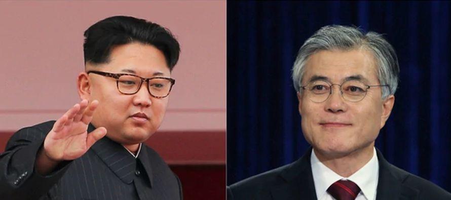 Las televisiones surcoreanas han cubierto en directo y entre una enorme expectación el viaje...