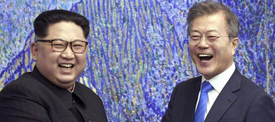 El nivel de enfrentamiento dialéctico -con cruce de insultos y amenazas incluidas- entre Kim...