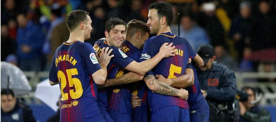 El Barcelona hace una semana conquistó la Copa del Rey; y siete días después...
