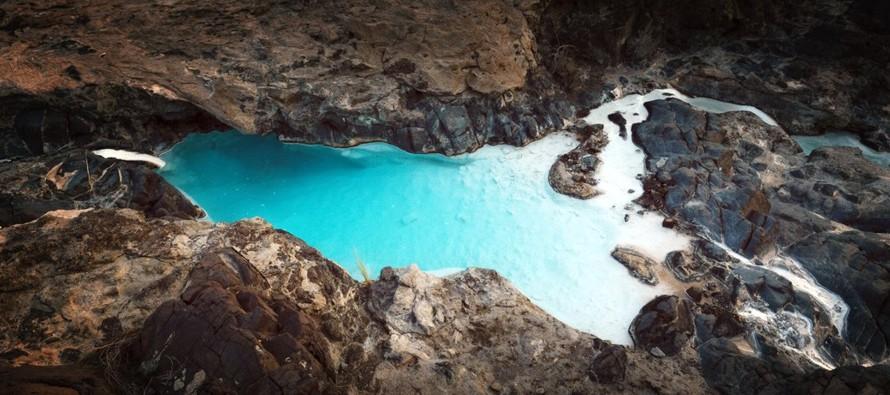 Al convertir el dióxido de carbono en piedra, las rocas en Omán -y en otros lugares...