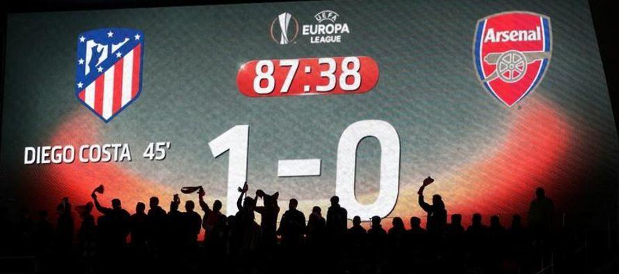 Costa marcó el gol del triunfo a los 44 minutos del encuentro jugado en el estadio Wanda...