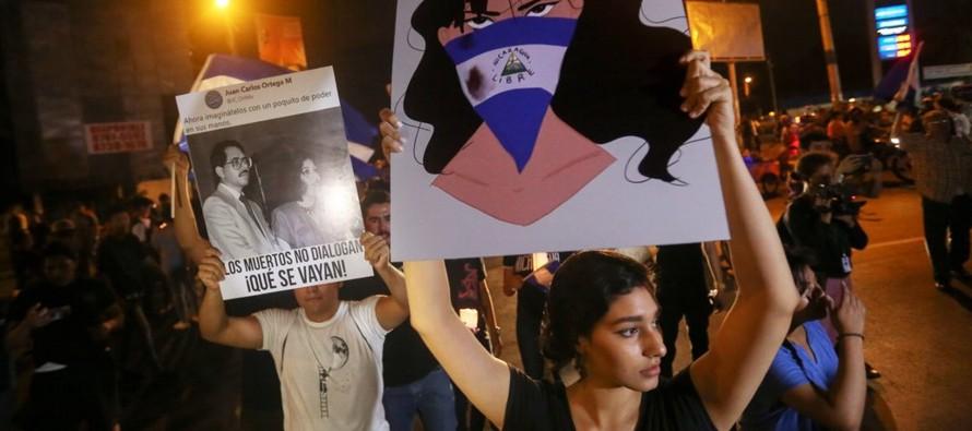 Las protestas terminaron después de que Ortega, con la intermediación de la Iglesia...