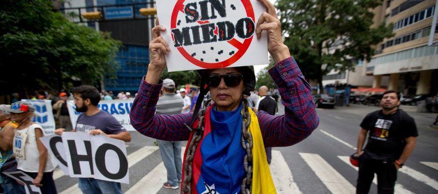 En cierto sentido podría ser muy blando para la profundidad de la crisis en Venezuela, pero...