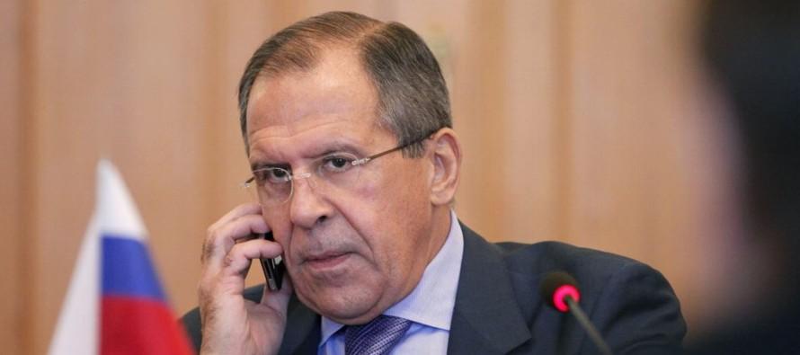 El jefe de la diplomacia rusa recalcó que en sus contactos con los Gobiernos de Irán...