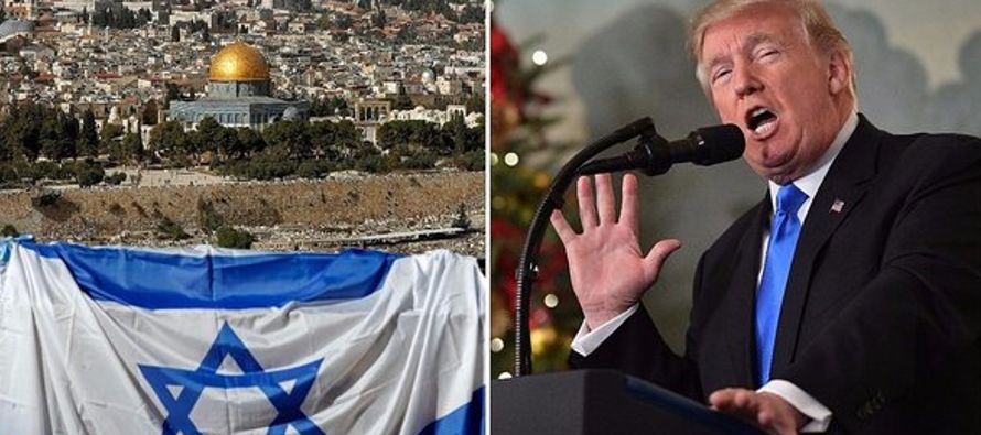 Con el traslado este lunes de su embajada de Tel Aviv a Jerusalén, el presidente, Donald...