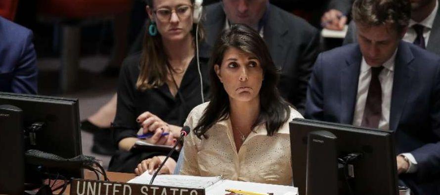 Varios Estados miembros y la propia ONU, además, reclamaron una investigación...