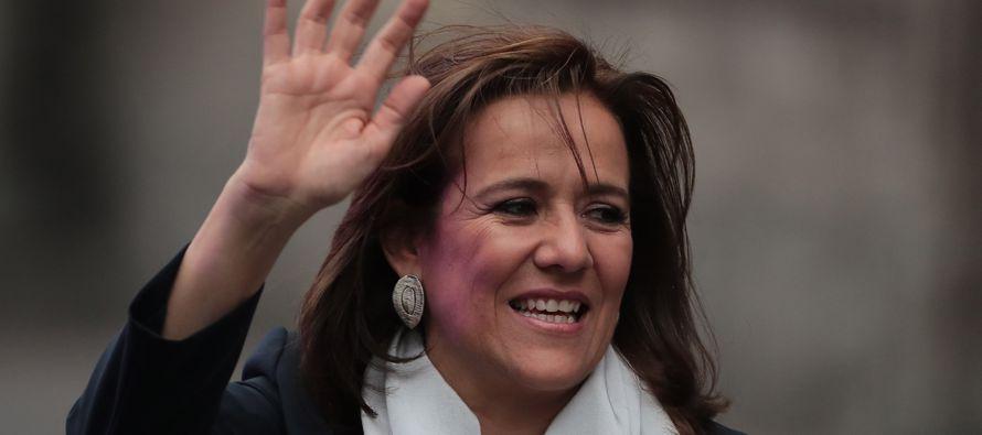 """""""Mi mayor respeto y admiración a Margarita Zavala, mujer honesta, inteligente y..."""