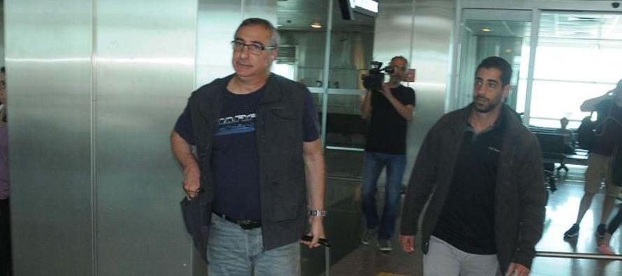 Medios turcos grabaron cómo el diplomático israelí era requerido para un...