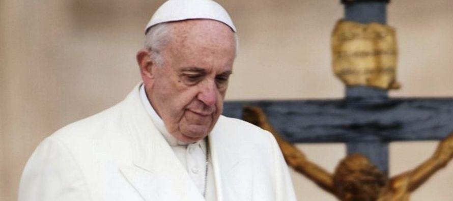 """Francisco también invitó """"a todas las partes encausadas y a la comunidad..."""
