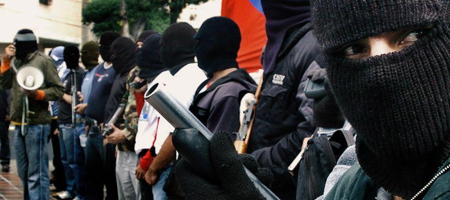 """El estudio, titulado """"Venezuela: ¿Un Estado mafioso?"""" y difundido en alianza con..."""