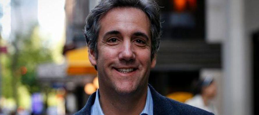 Cohen indicó que si era imputado, colaboraría con Mueller. Todo a pesar de haber...