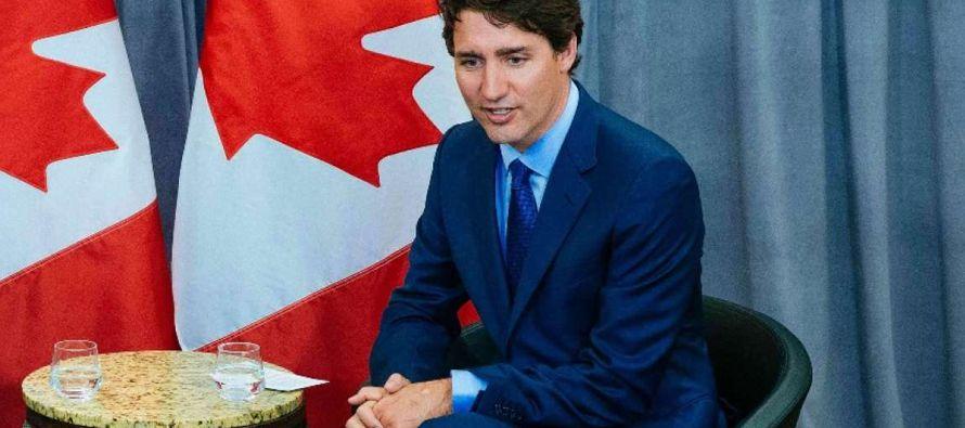 La condena de Trudeau fue criticada por la organización judía Centro por Israel y...