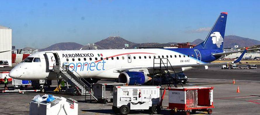 Aeroméxico había anunciado el pasado abril que a partir del 31 de octubre...