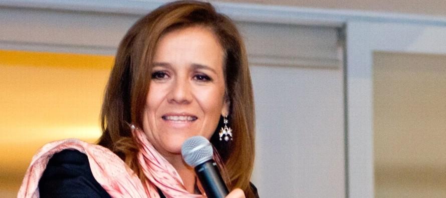 La esposa del expresidente mexicano Felipe Calderón (2006-2012) aseguró a sus...