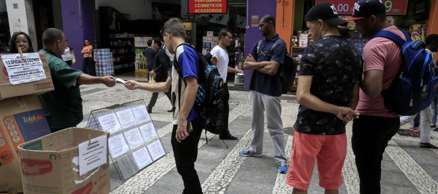 Según un estudio divulgado por el Instituto Brasileño de Geografía y...