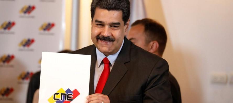 La Mesa de Unidad Democráctica (MUD), el grupo que une a las fuerzas opositoras, no...