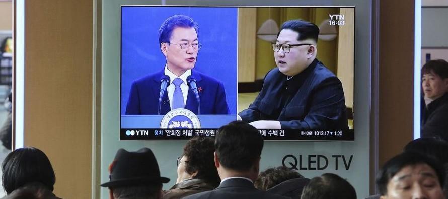 Ri criticó al Sur por participar en las maniobras, así como por permitir que hable...