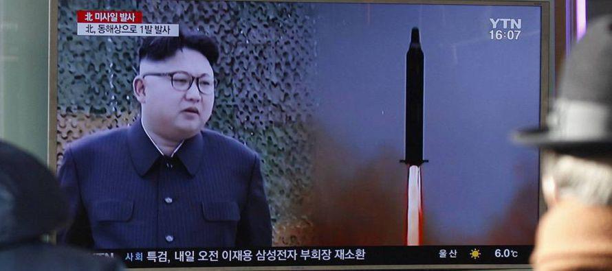 """""""El modelo de Libia no es un modelo que tengamos en absoluto con Corea del Norte. Con Kim..."""