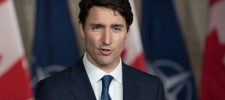 """""""Hemos hecho un gran avance y esperamos seguir adelante"""", añadió Trudeau..."""
