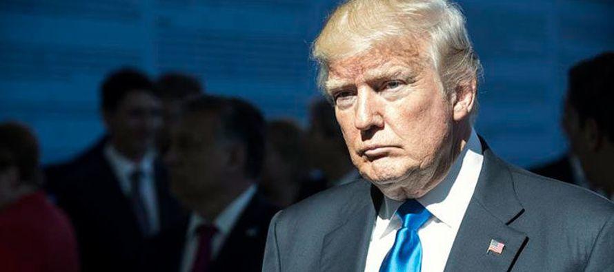 """Trump agregó que Alemania es """"un enorme beneficiario"""" de la OTAN y por tanto..."""