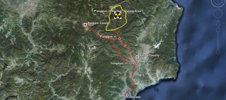 Corea del Norte está instalando una plataforma para observadores de cara al desmantelamiento...