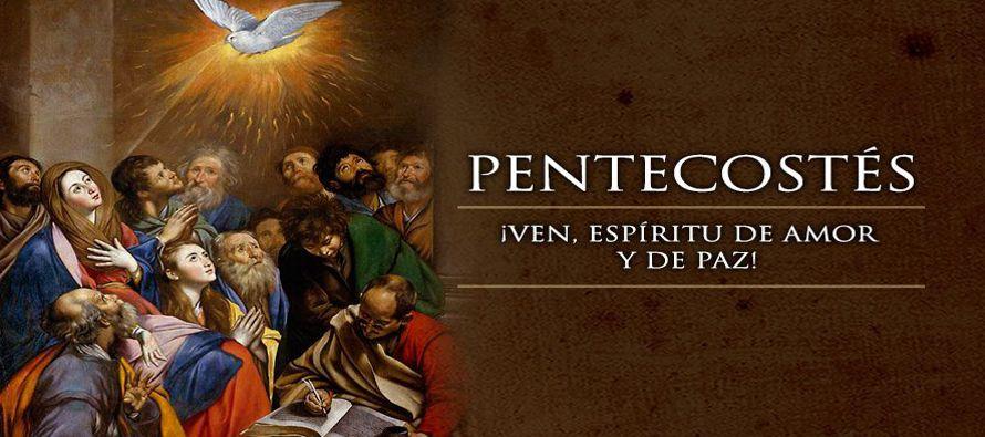 Pentecostés representa para San Lucas el nacimiento de la Iglesia por obra del...