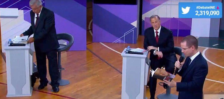 En el debate televisado se trataron por bloques los temas de comercio e inversión, seguridad...
