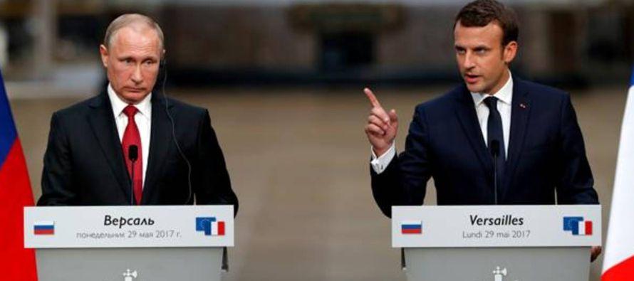 """""""Yo reconozco el papel que Rusia se ha arrogado en su entorno más cercano, así..."""