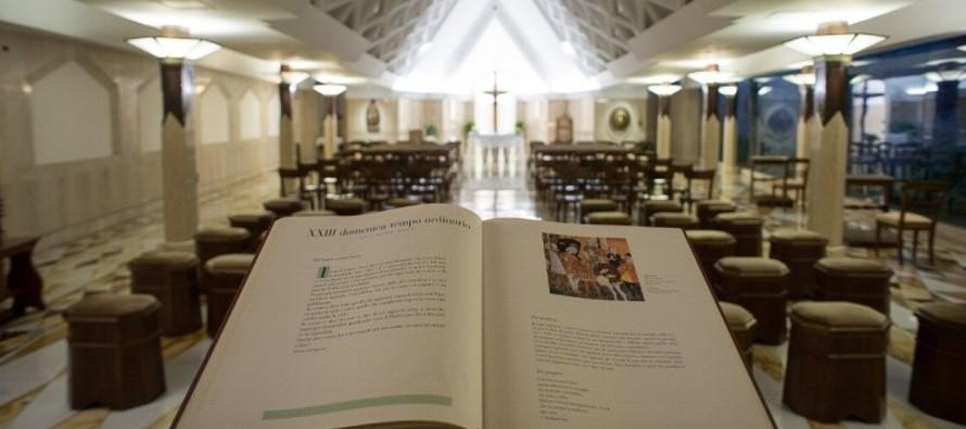 Para ser libre de cara a las riquezas: Papa Francisco
