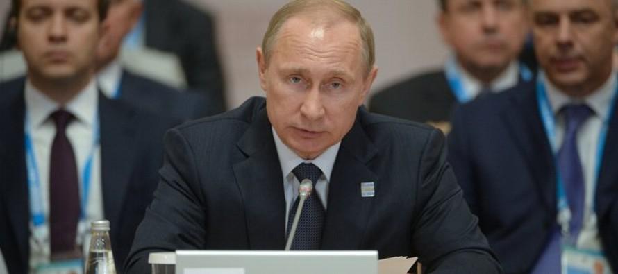 """Putin denuncia un """"nuevo proteccionismo"""" ideado para aplastar la competencia"""