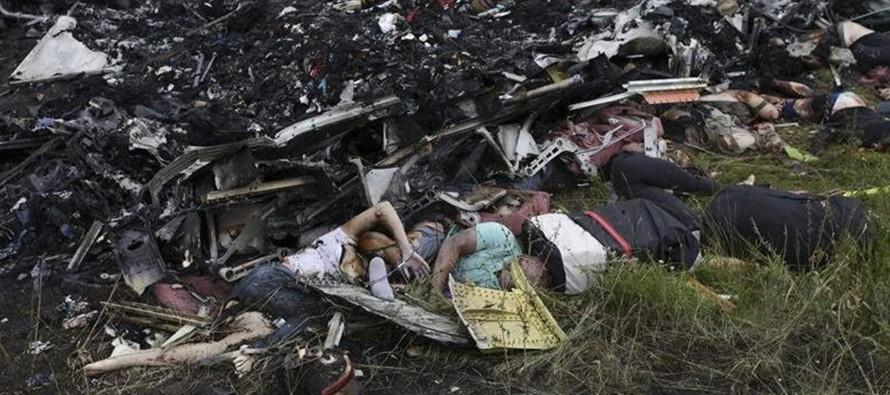El Reino Unido dice que Rusia debe responder por derribo avión malasio