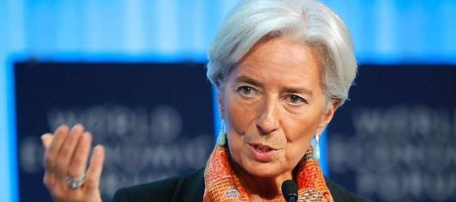 Lagarde destaca buena marcha de la economía mundial pero pronostica tormentas