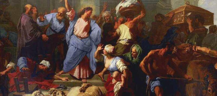 En Jerusalén existían 450, además del Templo. En su interior, los asistentes...