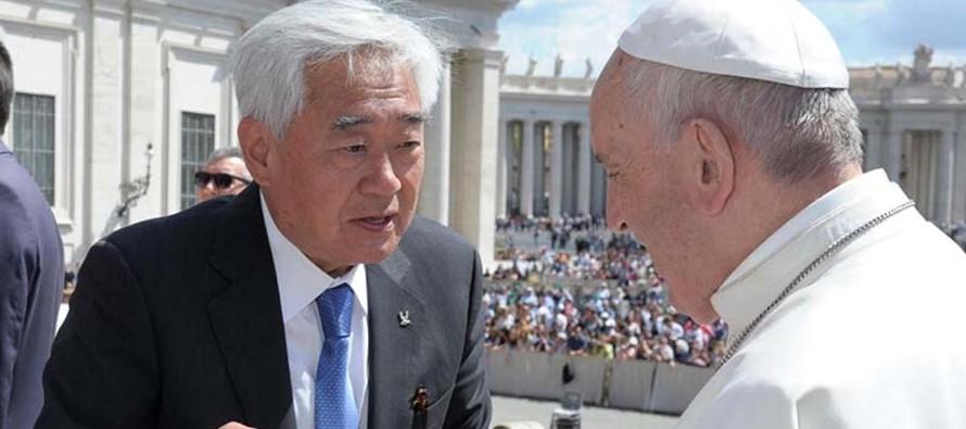 """""""Ver a las dos Coreas juntas ha sido un mensaje de paz para toda la humanidad"""",..."""