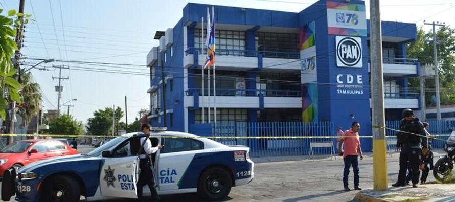 El Comité Directivo Estatal del PAN de Tamaulipas condenó el atentado y...