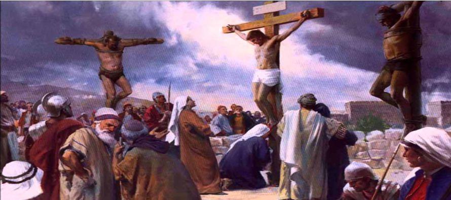 Al llegar a Jesús, como lo vieron ya muerto, no le quebraron las piernas, sino que uno de...