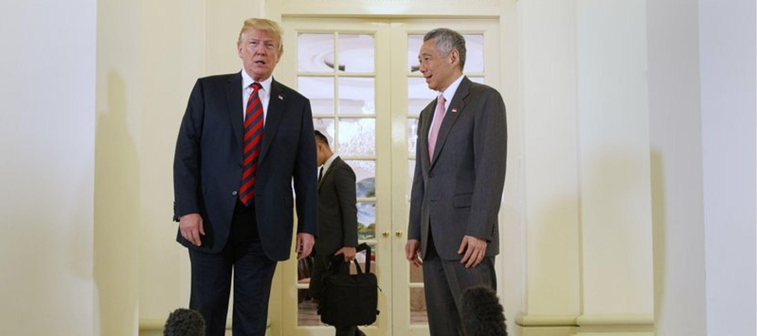 Pero en la víspera de la reunión, la Casa Blanca anunció que Trump se...