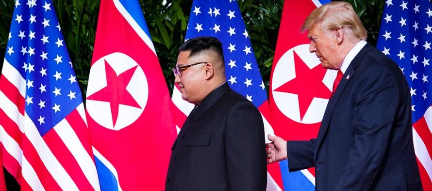 Prácticamente cualquier diálogo entre Estados Unidos y Corea del Norte, mientras...