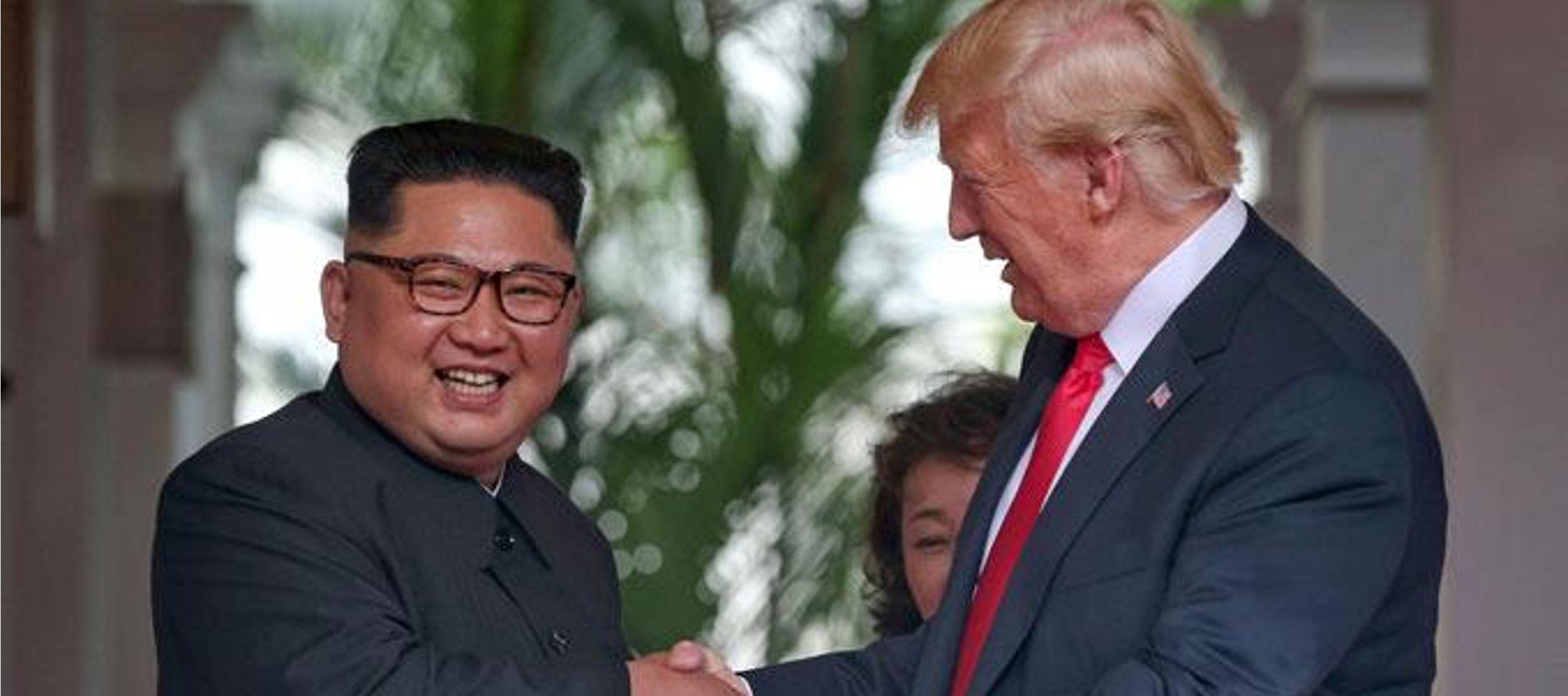 La cumbre de Singapur fue la primera entre mandatarios de ambos países tras casi 70...