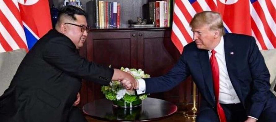 Estados Unidos y Corea del Norte se comprometen a establecer unas nuevas relaciones entre ambos...