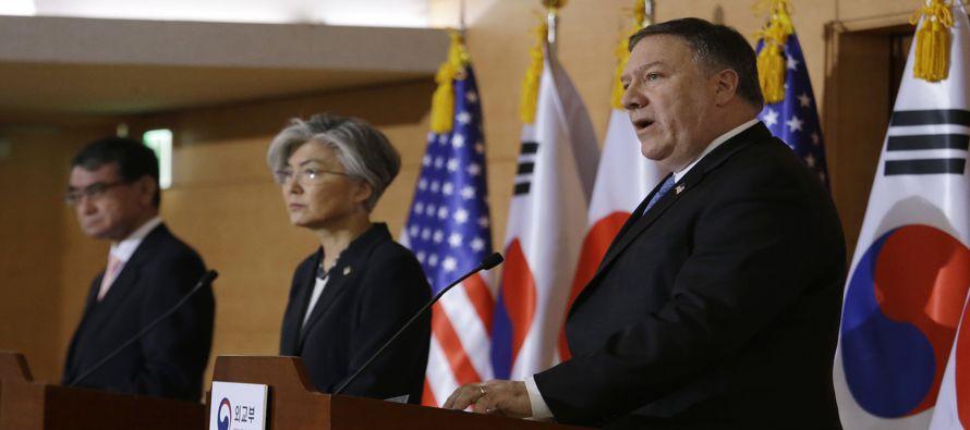 El secretario de Estado estadounidense, Mike Pompeo, ha advertido de que las duras sanciones...