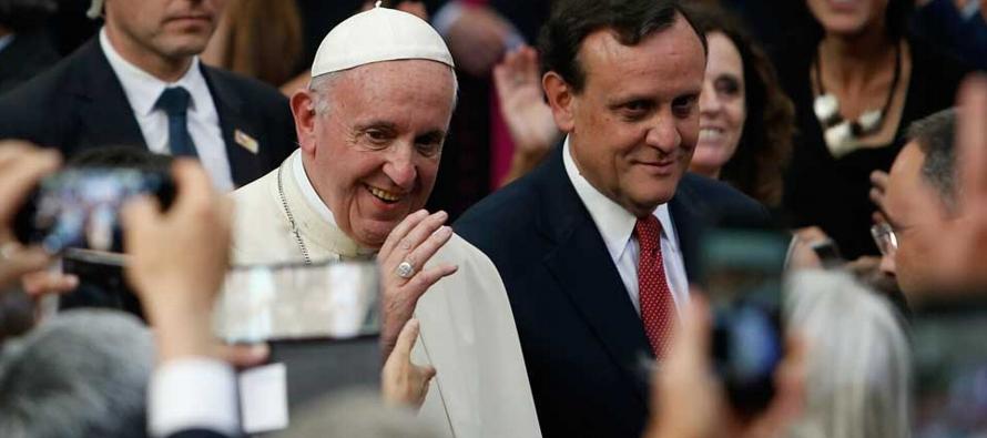 """Francisco afirmó que """"para hacer frente y dar respuesta al fenómeno de la..."""