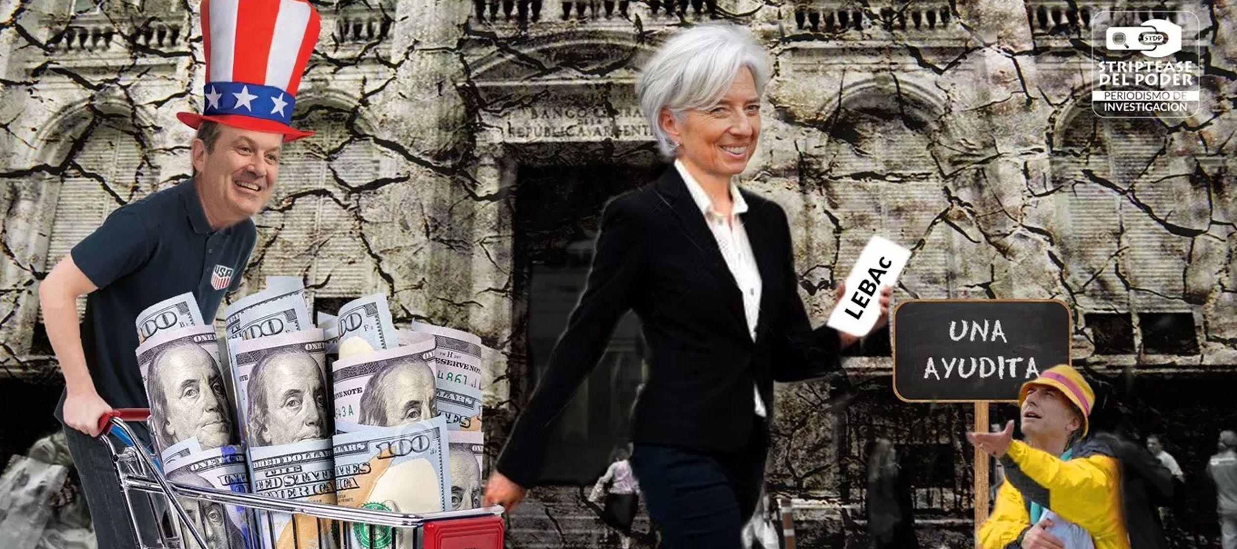 Argentina emplea fondos de FMI para atajar devaluación