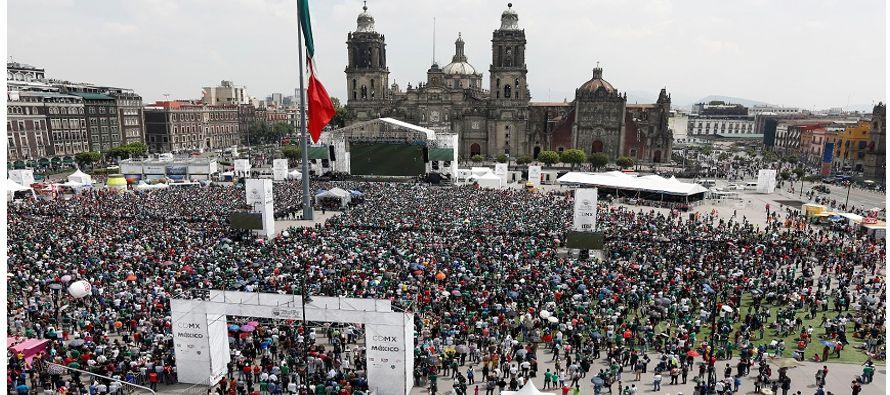 El buen paso de México en Rusia ha incrementando la fe entre los fanáticos que...