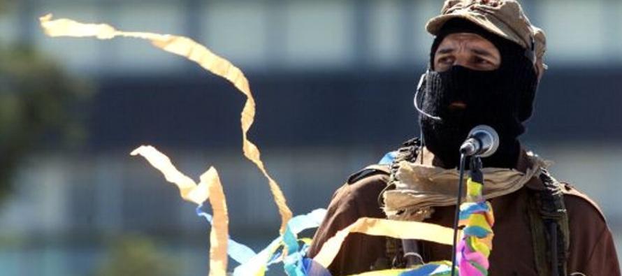 El Ejército Zapatista de Liberación Nacional (EZLN) respondió con el desprecio...